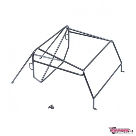 ROLL CAGE in METALLO v2 per Carrozzeria Defender D90 PickUP - TRC TRC-302223A