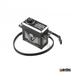 Servo Digitale SB-2290SG 50Kg Black Edition Monster Torque Brushless Steel Gear - SAVOX SAXSB-2290SG