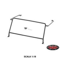 Roll Cage Protezione Vetro Defender D90 in Scala 1:18 - CCHand