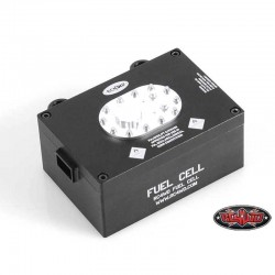 TANK REALISTIC BLACK Electronic Door-Metal - RC4WD