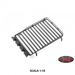 Portapacchi Defender D90 con Parabole in Scala 1:18 - CCHand