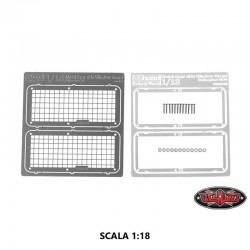 Set GRIGLIE VETRI per Carrozzeria Defender D90 in Scala 1:18 - CCHand