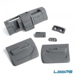 INTERNI REALISTICI per Carrozzeria Mitsubishi Pajero - LooPS LPS-I001