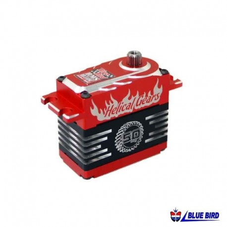 Servocomando in metallo High Voltage 54.2Kg - BLUE BIRD BMS-H50C