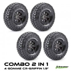 COMBO 2 in 1 TRENO GOMME CR-GRIFFIN 1.9 - LOUISE TM-T3230VI