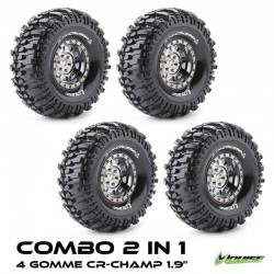 2 in 1 COMBO TIRES CR-CHAMP 1.9 - LOUISE
