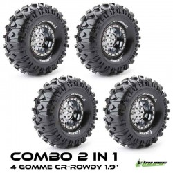 2 in 1 COMBO TIRES CR-ROWDY 1.9 - LOUISE