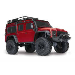 TRX-4 DEFENDER RED RTR 1:10 - TRAXXAS
