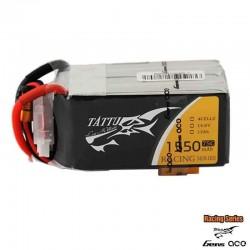 Batteria LiPo TATTU 1550mAh 14.8v 4s 75c - TATTU TA-75C-1550-4S1P-R