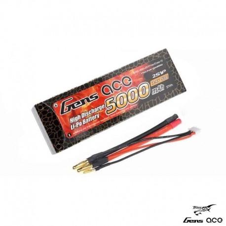 Batteria LiPo 5000mAh 7.4v 2s 50c HARDCASE - GENS ACE B-50C-5000-2S1P-HardCase-10