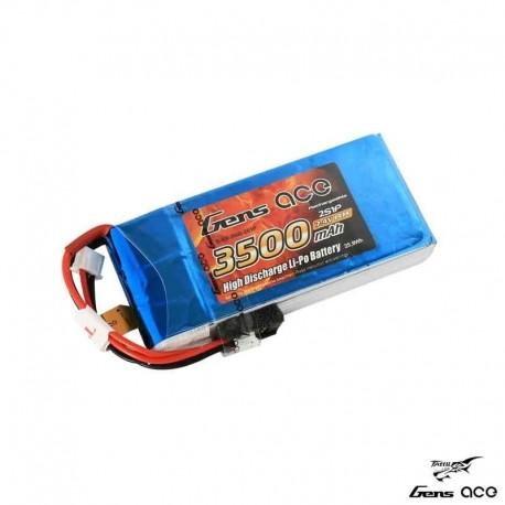 Batteria LiPo 3500mAh 7.4v 2s 5C (RX) - GENS ACE B-RX-3500-2S1P
