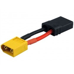 Cable ADAPTER, XT60 MALE to TRAXXAS FEMALE to AMASS