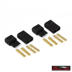 4 CONNECTORS TRAXXAS HV FEMALE and MALE - to- TM