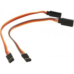 2 Extension cables from 15cm for JR/Hitec - AMASS
