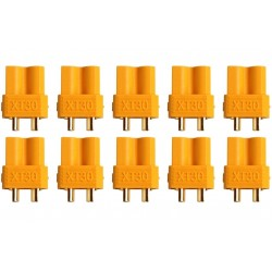 10 CONNECTORS XT30 FEMALE - AMASS