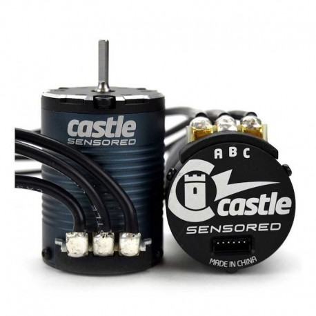SENSORED 1406-2280KV QUATTRO POLI - Castle Creations CC-060-0069-00