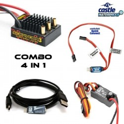 COMBO 4 in 1 - CASTLE CREATIONS TM-CB4IN1CC