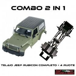 COMBO 2 in 1 JEEP RUBICON RTR - TM TM-CBJWRV2