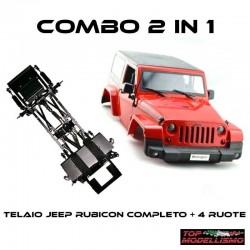 COMBO 2 in 1 JEEP RUBICON RTR - TM TM-CBJWRR2