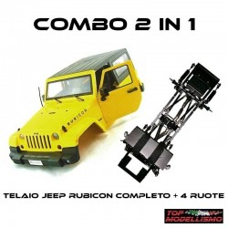 2 in 1 COMBO JEEP RUBICON RTR - TM