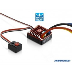 ESC Quicrun 1080WP Brushed 80A (Waterproof) - HOBBYWING ESC-1080WP-HW