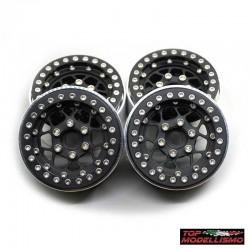 4 Cerchi 1.9 in alluminio a 12 Razze v1 - TM