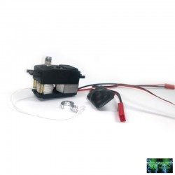 SERVO VERRICELLO PST-200 LOW PROFILE 14.5Kg max. 6s (Waterproof) - Powershift RC PST-200LP