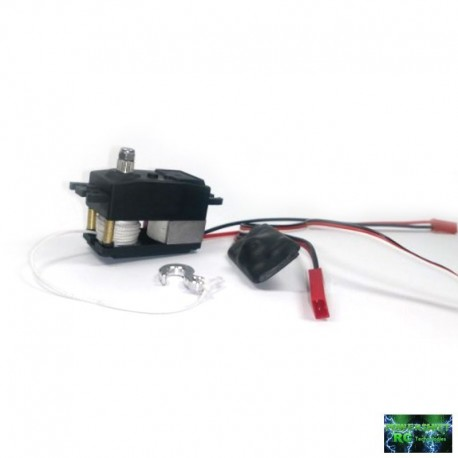 SERVO VERRICELLO PST-200 LOW PROFILE 14.5Kg max. 6s (Waterproof) - Powershift RC PST-200LP