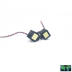 2 FANALI QUADRATI 18 LED SMD - Powershift RC