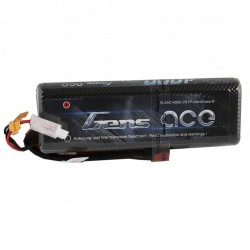 LiPo battery 4000mAh 7.4 v 2s 25c (STICK PACK) HARDCASE - GENS ACE