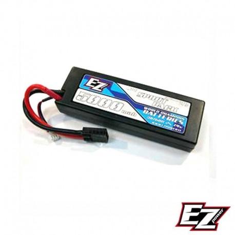 Batteria LiPo 5000mAh 7.4v 2s 40c HARDCASE - EZ POWER EZP5000-2-TXX