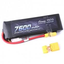 Batteria LiPo 7600mAh 7.4v 2s 50c - GENS ACE B-50C-7600-2S2P-TRX