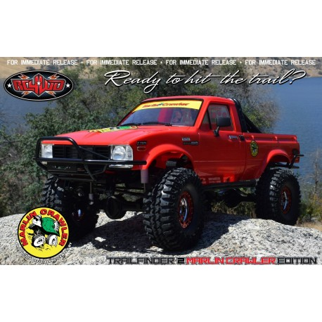 MARLIN CRAWLERS TF2 RTR W/MOJAVE II CRAWLER BODY SET - RC4WD Z-RTR0034
