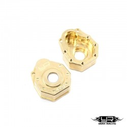 SHELLS PORTALS FRONT. or POST. BRASS for TRX-4 - YEAH RACING