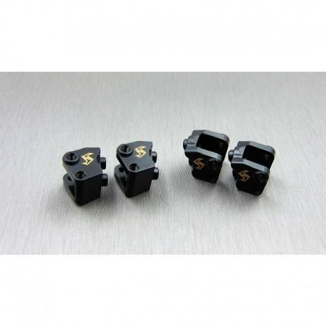 SUPPORTI LINK in Metallo per Ponti AXIAL SCX10-2 - SAMIX SCX2-4042