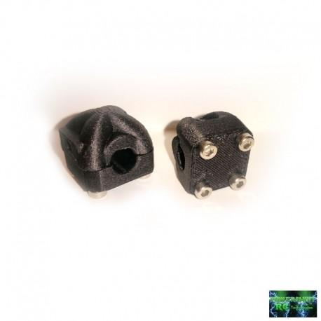 2 SUPPORTI FANALI per ROLL CAGE o PARAURTI - Powershift RC PST-LEDSUP