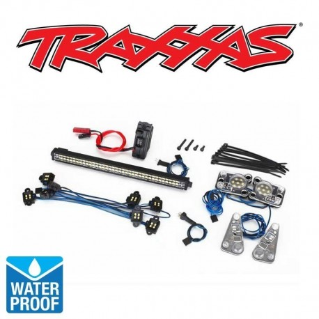 KIT LUCI WATERPROOF per TRX-4 DEFENDER - TRAXXAS TRX4-8030