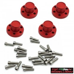COVER HUBS XD series RED - TM
