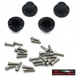 COVER HUBS XD series BLACK - TM