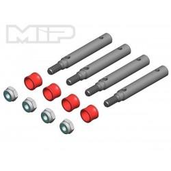 KIT DISTANZIALI 4mm per TRX4 TRAXXAS - MIP MIP-17120