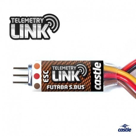 TELEMETRY LINK per FUTABA S.BUS2 - CASTLE CREATIONS CC-010-0152-00
