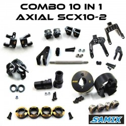 COMBO 10 in 1 SCX10-2 - SAMIX TM-SCX10SAMIX