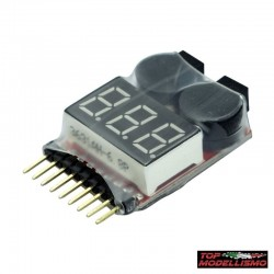 Tester Batteries with Buzzer - TM
