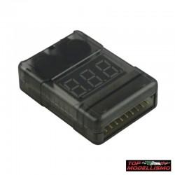 Tester Batterie con Cicalino CORAZZATO - TM TM-700227