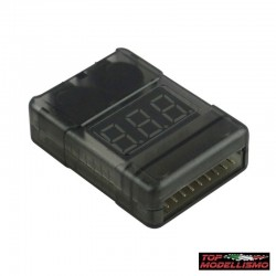 Tester Batteries with Buzzer ARMORED - TM