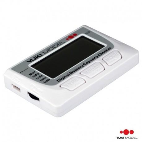 Tester Batterie e Servi DIGITALE - YUKI MODEL YM-700225