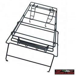 Roll Cage with roof Rack and Support lights for Defender D90 - TM