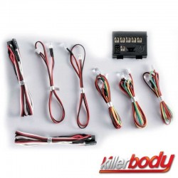 Kit 8 Led più Centralina - KILLER BODY KB48100