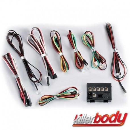 Kit 8 Led più Centralina - KILLER BODY KB48102