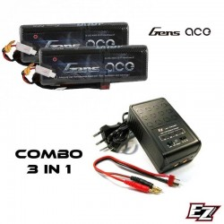 COMBO 3-in-1 Charging complete Battery and Lipo Battery